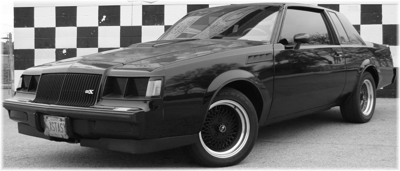 2016 Buick Grand National >> 1987 BUICK GNX REPLICA & 1987 BUICK GRAND NATIONAL - XSTASY :: PHOTO GALLERY